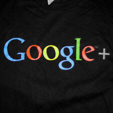 Google+ Plus Logo T-Shirt Small Search Engine Social Media Internet Tech