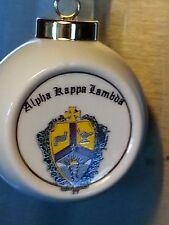 Alpha Kappa Lambda Ball Ornament