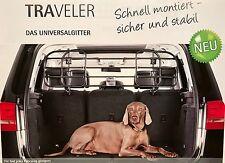 Kleinmetall TRAVELER Universal Trenngitter Hundegitter Gepäckgitter SUZUKI