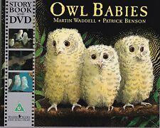 OWL BABIES - MARTIN WADDELL NEW PICTURE BOOK AND DVD