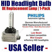 OE HID Headlight Low Beam GENUINE German PHILIPS - fits Select Mini Cooper - D1S
