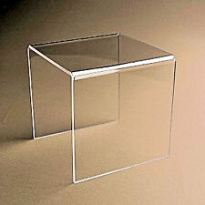 """RISER"" Clear Acrylic / Plastic Risers Display Stand Pedestal 3"" X 3"" X 3"""