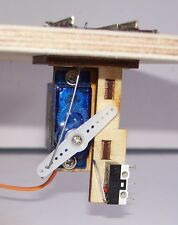 0 / 00 / 009 / N Gauge Servo Bracket Point turnout Control Laser Cut Kit Peco