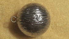 6pcs.24oz. cannon ball sinkers, weights, fishing, lead