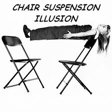 CHAIR SUSPENSION ILLUSION LEVITATION FLOATING MAGIC TRICK PORTABLE PARTY/STAGE