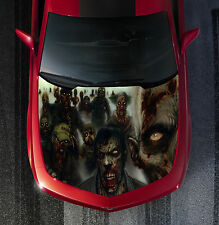 H24 ZOMBIE ZOMBIES Hood Wrap Wraps Decal Sticker Tint Vinyl Image Graphic