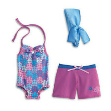 American Girl Kanani's BEACH OUTFIT Swimsuit Board Swim SHORTS  for Kanani Doll