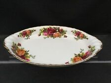 ROYAL ALBERT OLD COUNTRY ROSE OVAL CONDIMENT TRAY