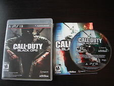 Playstation 3 PS3 complete in box Call of Duty Black Ops tested