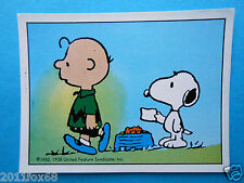 figuritas figurines figuren snoopy figurine i love snoopy n. 147 panini 1980-90