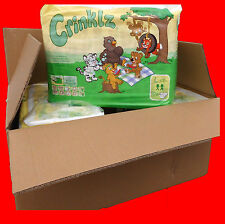 Sale Adult baby Crinklz colourful Diapers Box in Size L