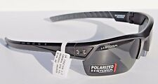 UNDER ARMOUR Igniter 2.0 POLARIZED Sunglasses Satin Carbon/Gray Storm NEW $145