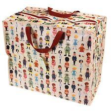 Dotcomgiftshop world of work design recyclé réutilisables linge jumbo sac de rangement