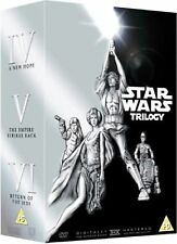 STAR WARS New Hope / Empire Strikes Back / Return of the Jedi TRILOGY BOXSET DVD
