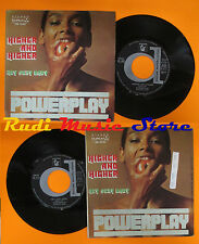 LP 45 7''POWERPLAY Higher and higher Hey sexy baby 1978 italy DURIUM cd mc dvd