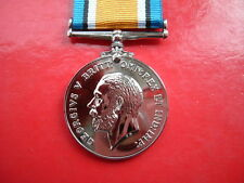 Quality Die Struck WW1 British War Medal Replacement Full Size Copy