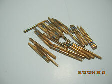 Lot of 20 GOLD series premier two striper dental taper round end diamond burs