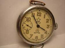 Kirovskie RKKA wrist watch 7 Jewels 1940s I MChZ USSR RARE Serviced & oiled