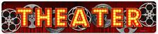 Vintage Retro Film Movie Cinema Theater Metal Sign Unique Gameroom Decor RPC114