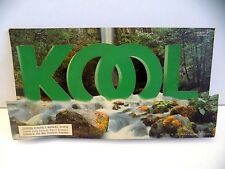 "1994 ""Kool"" Cigarette B&W Stand-Up Cardboard Advertising Sign"