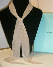 TIFFANY & CO. Elsa Peretti Mesh Scarf Necklace