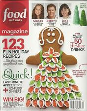 Food Network magazine Holiday Christmas recipes Festive drinks Quick appetizers