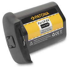 Patona Battery 10,8V 2600mAh compatible with Canon LP-E4 - EOS 1D + 1Ds Mark III