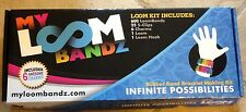 My Loom Bandz Kit for Making Rubber Band Bracelets New MISB
