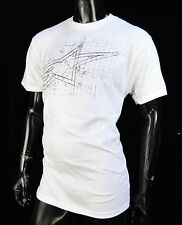 Alpinestars Racing Motocross Architect White Atletic mens T shirt size Large