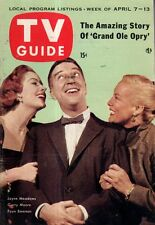 1956 TV Guide April 7 - Grand Ole Opry; Lassie; Garry Moore-I've got a secret
