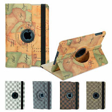 iPad Mini 1 2 3 Case For Apple - Classical 360 rotating stand case cover