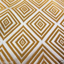 per HALF Yard Chinese brocade fabric pale gold diamond for cushion cover cbs 517