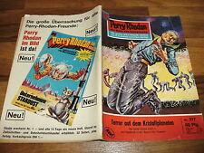 PERRY RHODAN  # 317 -- auf KRISTALLPLANET / 1. Aufl. 1967 + Reklame Gucky-Figur
