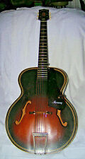 Vintage Collectable 1946 ? HARMONY Acoustic Archtop Guitar Model H1215