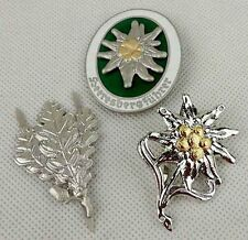 WWII German Mountain Division Edelweiss Badge Pin Insignia Sniper Badge