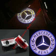 2x Laser LED Door courtesy Shadow Projector Lights For Benz A B E ML C GL-Class