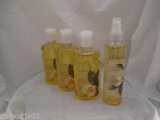 Bath & Body Works White Tea & Ginger Shower 3 Shower Gel 1 Splash Lot Set of 4