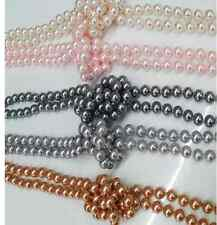 wholesale 1pcs Imitation pearl multilayer long necklace sweater chain