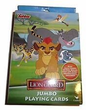 THE LION GUARD DISNEY JUNIOR JUMBO PLAYING CARDS! SEVERAL GAMES! FREE SHIP!