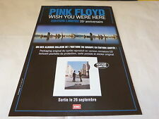 PINK FLOYD - Publicité de magazine / Advert WISH YOU WERE HERE !!!
