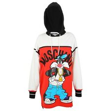 Moschino Couture Looney Tunes X Jeremy Scott Sylvester Hooded Dress RARE LIMITED