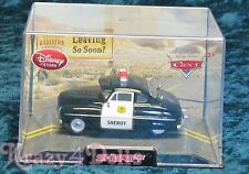 Disney Cars Diecast Sheriff Car New in Collector 's Case!