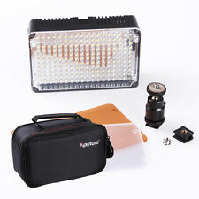 Aputure Amaran Brand 198-LED Camera Video Light Lamp for Canon Nikon CTO Filter