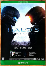Halo 5 Guardians RARE XBOX ONE 51.5 cm x 73 cm Japanese Promo Poster