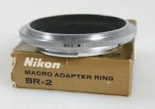NIKON MACRO ADAPTER RING FOR BELLOW FOCUSING ATTACHMENT MODEL 2 BR-2, IN BOX