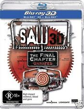 SAW VII 7 3D: THE FINAL CHAPTER : NEW Blu-Ray