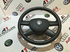 VW GOLF MK5 4 SPOKE STEERING WHEEL AND AIR BAG 1K0880201N 1BZ