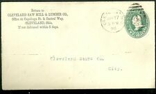1890 Cover Cleveland Saw Mill & Lumber Co. in Ohio to Cleveland Stone Co.