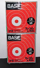 2 BASF LP 35 Blank Reel to Reel Recording Tapes  (BRAND NEW SEALED)