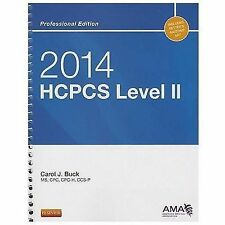 2014 HCPCS Level II Professional Edition by Carol J. Buck (2013, Spiral)
